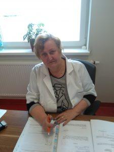 lek. med. Irena Lewkowicz - lekarz rodzinny