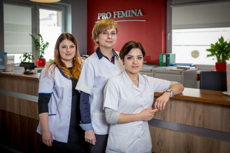 Usługi pielęgniarskie Profemina Będzin